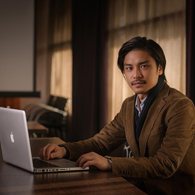 Professzionális üzleti portréfotózás