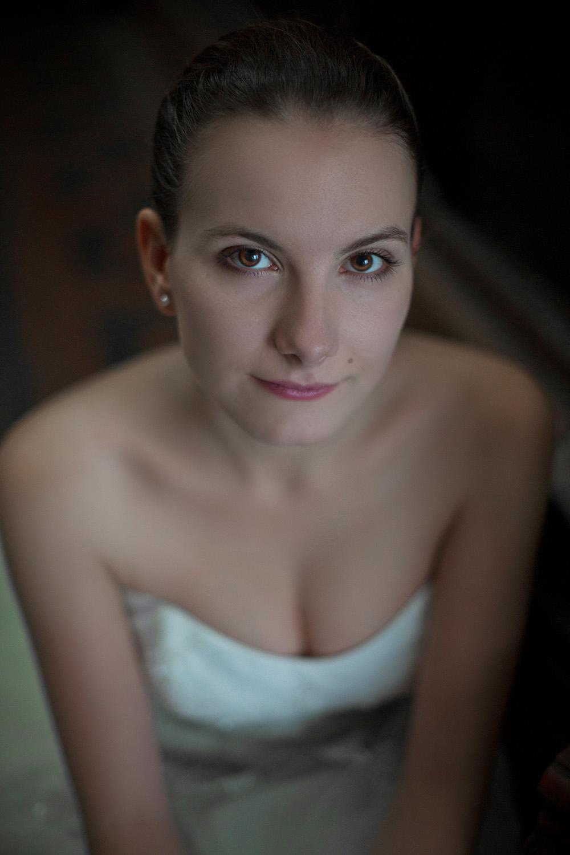Női portréfotó - Gabi esküvői