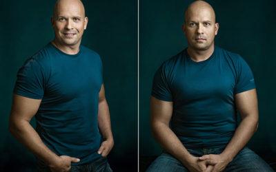 Zsolt dupla portréfotói