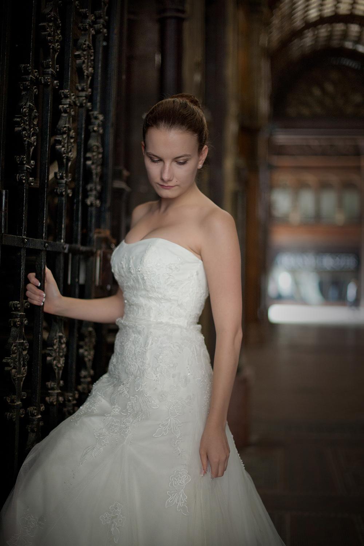 Női portréfotózás, Gabi esküvői portré