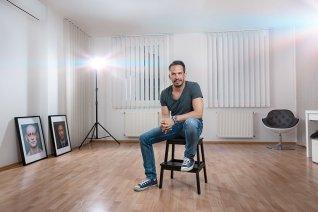 Portréfotózás céges prezentációhoz