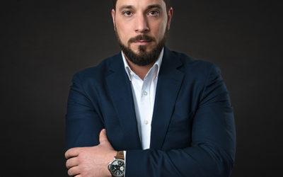 Portréfotózás: Tamás üzleti portréfotói