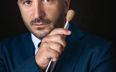 Zenész portréfotózás – Hollókői Huba karmesterrel