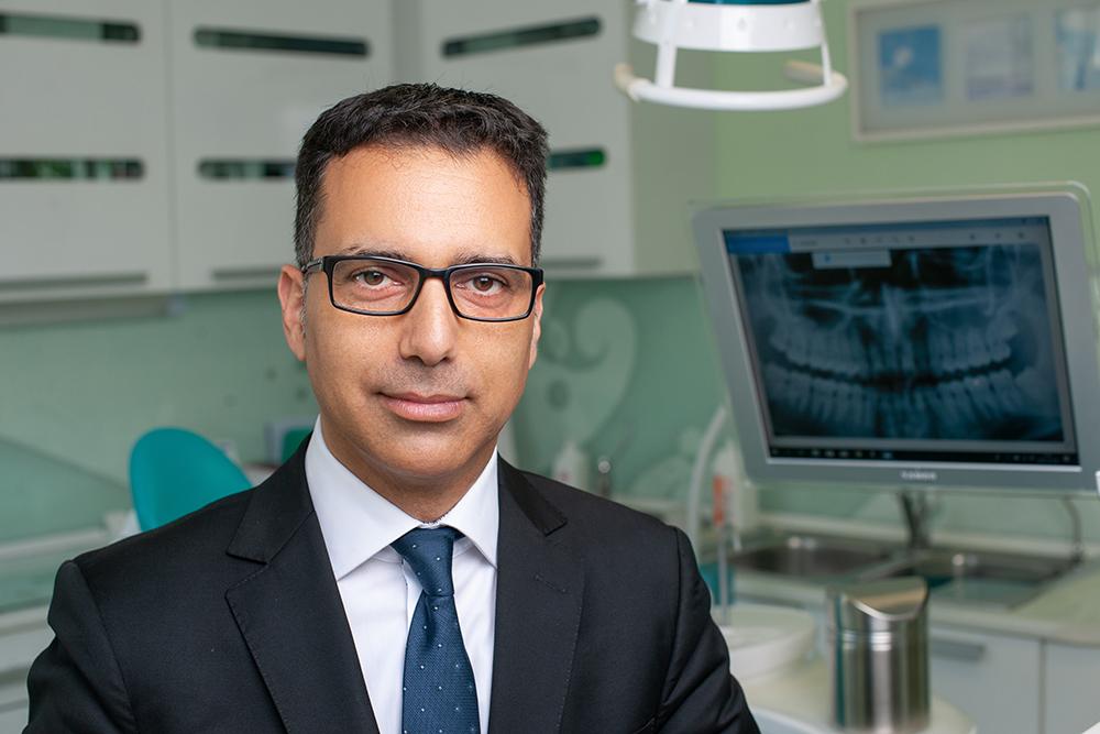Igazságügyi fogorvos szakértő portré fotózás