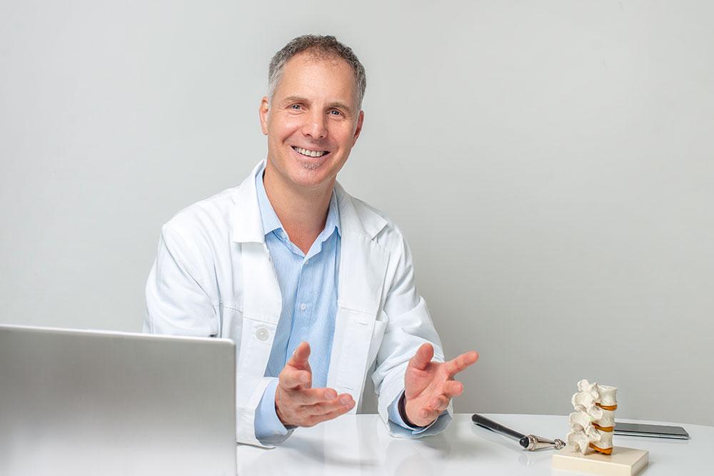 Orvos portré fotózás